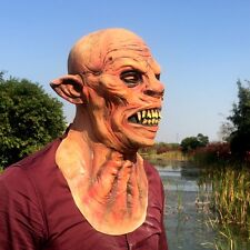 Halloween Devil Elf Bloody Mask Ball Latex Full Face Cosplay Mask Horror Props