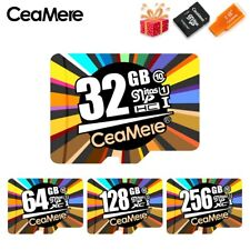 CeaMere Memory Card 256GB 128GB 64GB U3 UHS-3 32GB Micro sd card Class10 UHS-1