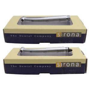 Sirona T3 Racer Dental High Speed Handpieces Triple Water Air Turbine SU 2/4Hole