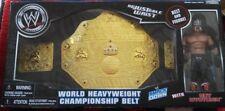 WWE World HeavyWeight Championship Belt and Rey MYSTERIO Set NeW in Sealed Box