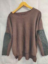 Women's Jumper Pull Over Red Sweater Knitwear Size XL Bnwt