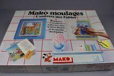 ZB751 Mako Jeu 580115 Moulages L'univers des Fables 2 Tableaux Livret Cassette