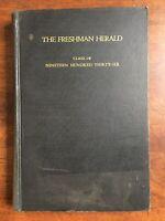 1936 Freshman Herald, Class of 1936, Princeton University, Princeton NJ Yearbook