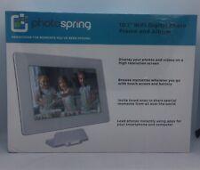 PhotoSpring (16GB) 10.1 inch WiFi Digital Photo Frame & Album BRAND NEW & SEALED