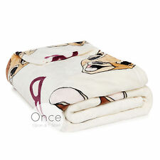 DISNEY BAMBI Soft Cosy Sherpa Throw Blanket from Primark