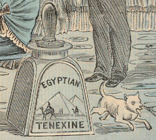 EGYPTIAN TENEXINE GLUE, ORNATE TRADE CARD, SO NO DIVORCE, * NOW ON SALE * TC1033