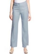 Linen Straight Leg Trousers Size Petite for Women