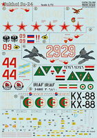 Print Scale 72-184 Decal for Sukhoi Su-24 1:72