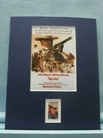 """Big Jake"" starring John Wayne & Maureen O'Hara honored by the John Wayne stamp"