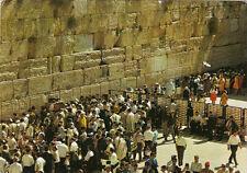 CPA ISRAEL JERUSALEM western wall mur des lamentations écrite