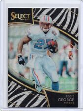 Eddie George 2018 Panini Select Zebra Field Level Prizm SP