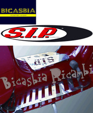 10717 ESTRIBO DE REPUESTO SIP ACERO PULIDO VESPA 125 150 200 PX ARCO IRIS