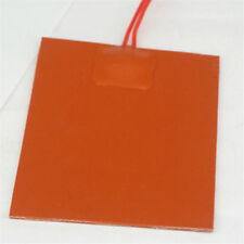 12V DC 80x100mm 20W Flexible Waterproof Silicon Heater Pad for 3D Printer Heater