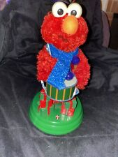 Rare Sesame Workshop 11' Elmo Christmas Drummer- Deck The Halls Animated 2006
