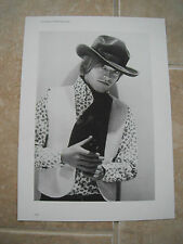 Rolling Stones Brian Jones Vtg Candid Coffee Table Book Photo