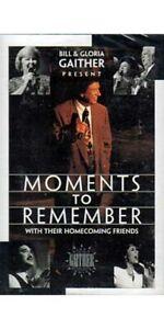 Moments to Remember ~ Bill Gaither ~ Christian ~ Gospel ~ Cassette ~ New