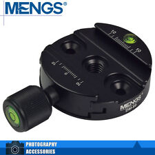 MENGS DM-60 60mm Quick Release Clamp For Benro Sirui Markins QR Plate Ball Heads