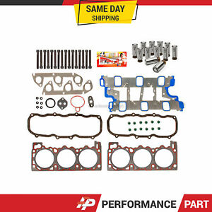 Head Gasket Set Bolts Lifters Fit 95-96 Ford Ranger Explorer Aerostar Mazda 4.0