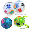 1/2PCS Stress Reliever Magic Rainbow Ball Fun Cube Fidget Puzzle Education Toy