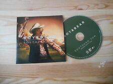 CD Indie Boy & Bear - Southern Sun (1 Song) Promo NETTWERK cb