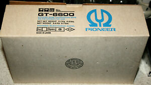 Vintage Pioneer GT-6600 Shaft Style Car Stereo Radio CB New Old Stock
