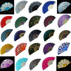 10x Hand Fan Decoration Item Dekofaecher Special post Closeouts