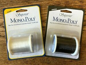MonoPoly Invisible Thread from Superior Threads - 2,200yd reel