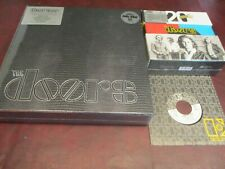 THE DOORS 7 LP 180 GRAM 33 & 1/3 INDIVIDUALLY LP & 45 SINGLES NUMBERED BOX SETS