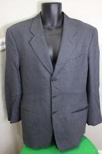 Armani Collezioni men's grey checker sportcoat blazer  size 40 C