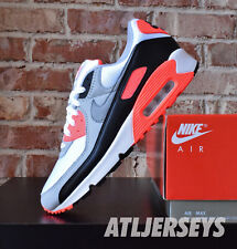 2020 Nike Air Max 90 Infrared White Cool Grey Radiant Red CT1685-100