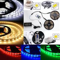 1M-10M Bande Ruban LED Strip Flexible RGB 3528 5050 5630 SMD Etanche kit étanche