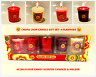Chupa Chups Candle Gift Set - 4 Amazing candy flavours + Votive Holder