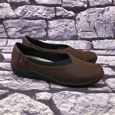 Clarks Cloudsteppers Women's Brown Slip On Soft Cushion Loafer Shoes Size 10 M