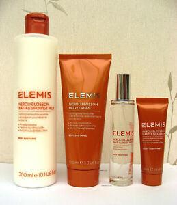 Elemis Neroli Blossom Bath & Shower Milk/Body Cream/Hand Cream/Mist  - Choose