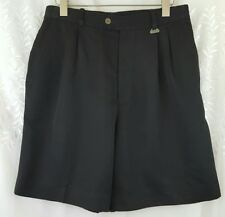 Women's Callaway Black Golf Pleated Front Shorts from Nordstroms size 12