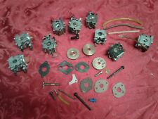 Lot 9 New & Lightly Used Walbro Small Engine Carburators W Parts