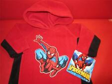 New Kids Toddlers Marvel The Amazing SPIDERMAN Fleece Hoodie 12 months