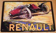 Renault, chapa escudo, francia france,! nuevo!