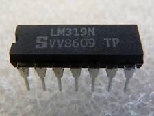 2 x  Circuits intégrés LM319N - DIL14