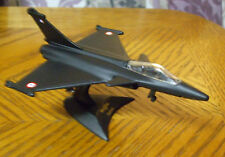 90'S MAISTO TAILWINDS CHARCOAL BLACK FRENCH RAFALE FIGHTER LOOSE MINT 8+ Diecast
