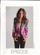 EPISODE  Pub de Magazine .Magazine advertisement. 2012