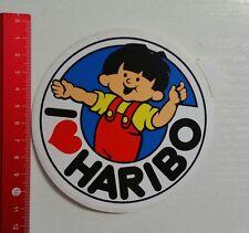 Aufkleber/Sticker: I love Haribo (131016130)