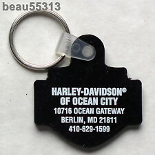 H-D SHOP OF OCEAN CITY BERLIN MARYLAND HARLEY DAVIDSON DEALER KEY CHAIN FOB