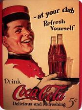 Coca Cola at your Club Kühlschrankmagnet 3D Fridge Refrigerator Magnet 6 x 8 cm
