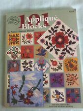 New listing 101 Applique Blocks by Nancy Brenan Daniel 2002, Paperback,Vg condition