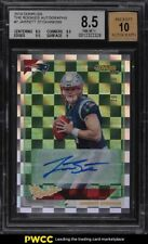 2019 Donruss The Rookies Jarrett Stidham ROOKIE RC AUTO /299 #7 BGS 8.5 NM-MT+