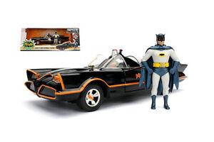1:24 Jada - Batman 1966 Classic TV Series Batmobile with Batman Figure