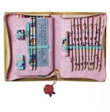 Disney Store Princess Stationary Set Zip Up Art Case 30+ Pieces School Supplies