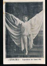 Belgium Gand Exhibition Theatre Stage ENIGMA Exposition de Gand 1913 PPC