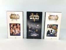 Star Wars VHS 20th Century Fox Trilogy